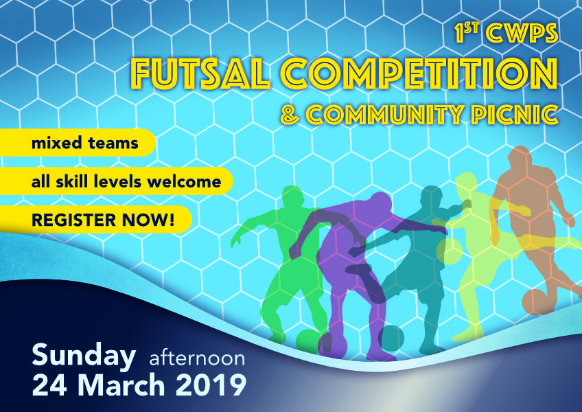 Parents Futsal flyer